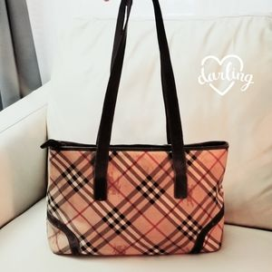Beautiful Authentic Burberry leather Tote bag